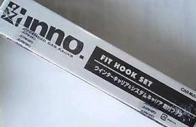 CARMATE カーメイト INNO イノー ベースキャリア TR取付フック TR132 (Gチェロキー)