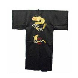 ☆FJK 日本の紳士着物 ポリエステル・龍刺繍・着物 フリーサイズ ER-51 FJK9354700021
