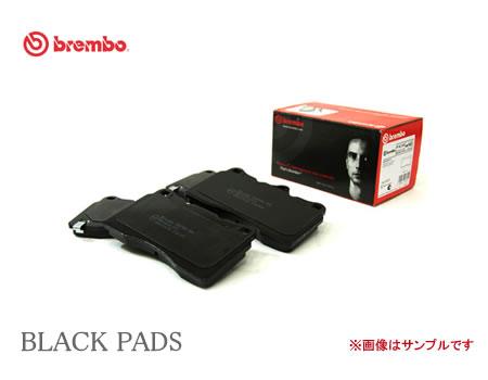 brembo ブレンボ ブラックブレーキパッド 品番:P85 017 リア PEUGEOT 207 型式:A7C5FW A7C5F01 年式:07/06〜12/11 【NF店】