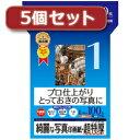 ☆【5個セット】インクジェット写真印画紙/超特厚 JP-EP1NLX5