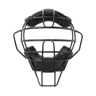 ●【送料無料】球審用マスク プレミアムモデル 硬式・軟式両用 ブラック BX83-74「他の商品と同梱不可」