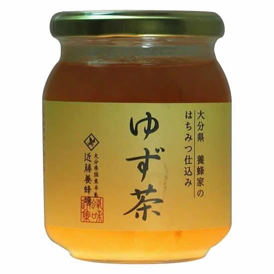 ●【送料無料】【代引不可】近藤養蜂場 ゆず茶 250g 12個組「他の商品と同梱不可」