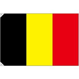 ●【送料無料】N国旗(販促用) 23663 ベルギー 大「他の商品と同梱不可/北海道、沖縄、離島別途送料」