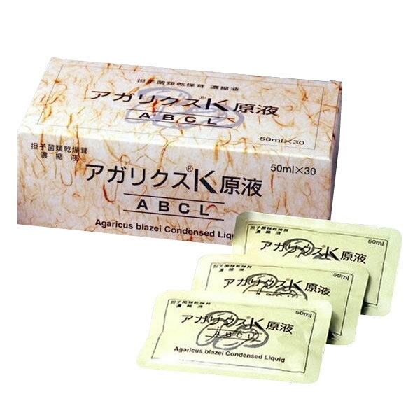 ●アガリクスK原液 50ml×30袋「他の商品と同梱不可」:カー用品卸問屋 ニューフロンテア