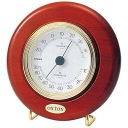 ☆EMPEX 温度・湿度計 オックストンカプリEX 温度・湿度計 置き掛け兼用 TM-6168