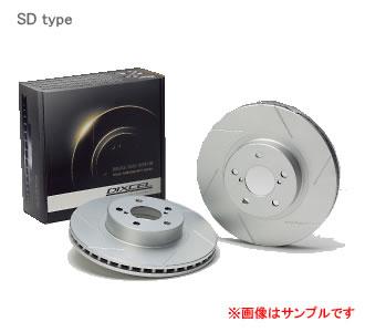 ブレーキ, ブレーキローター DIXCEL SD SD3612827S WRX Sti GC8 () C RA (GC8C47D) 949958 NF