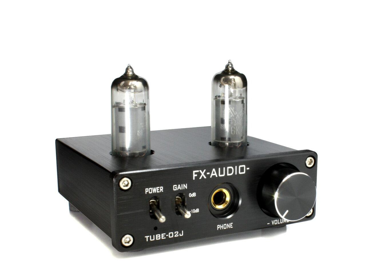 アンプ, ヘッドホンアンプ FX-AUDIO- TUBE-02J 2