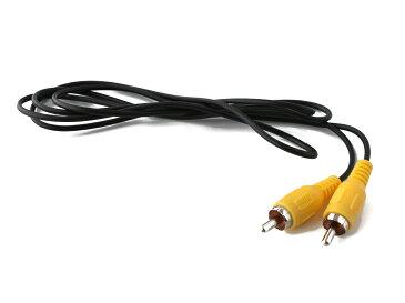 RCAピンプラグ オーディオケーブル 1.2m [黄] オス-オス [ネコポス便対応]