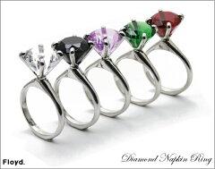 Diamond Napkin Ring ダイヤモンドキーリング ナプキンリング Floyd/フロイド【あす楽対応_東海】