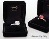 Diamond Key Ring /ダイヤモンド キーリングFloyd フロイド クリアー/レッドキーホルダー サングラスホルダー ダイヤモンド【あす楽対応_東海】