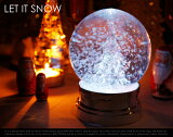 LET IT SNOW / レット イット スノー クリスマス クリスマスツリー 電気 イルミネーション Xmas X`mas スノードーム/【あす楽対応_東海】
