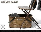 HARVEST BASKET ハーベストバスケット PUEBCO プエブコラタン バスケット カゴ 収納 クロークバスケット 荷物置き 荷物カゴ 飲食店