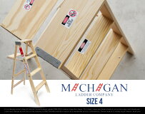 "��������Ω��WoodStepLadder""Size4″/���åɥ��ƥåץ����""������4""MichiganLadder/�ߥ�����������USA����ꥫ����ΩƧ����Ϥ���DAYDETAIL�ڤ������б�_�쳤��"