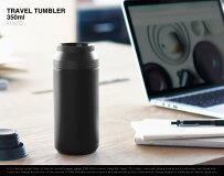 KINTOTRAVELTUMBLER/キントートラベルタンブラー350ml水筒保温保冷二重構造ステンレスシンプルマイボトルドリンクボトルアウトドア