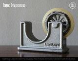 Tape Dispenser / テープディスペンサー PUEBCO / プエブコ シルバー 鉄 鋳鉄 アイアン テープ 什器 ショップ セロハン ビンテージ