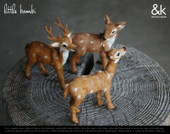 【Little Bambi】リトルバンビ&K amsterdam(アンドケー アムステルダム)オランダ鹿 オブジェ 小鹿置物 子バンビ しか シカ DETAIL 【あす楽対応_東海】