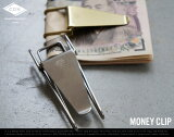 Money Clip / マネークリップ CANDY DESIGN & WORKS キャンディ デザイン&ワークス 財布 真鍮 ニッケル MoneyClip Hopper Double Clip ホッパーダブルクリップ DETAIL