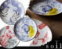 soilソイルLサイズamabroアマブロ【ピクチャープレート/洋食器/お皿/洋画・AMDR】【あす楽対応_東海】