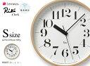 商品仕様  ■品名 【S】 RIKI Clock (太字)  ■ブランド Lemnos  ■デザイン 渡辺 力  ■サイズ 直径 254xD56mm  ■重量 600g  ■素材 プライウッド(本体)  ■保証 1年  ■付属 単三電池×1本  ■備考 受信電波: 長波 周波数40KHz・60KHz 受信機能: 自動受信 1日12回