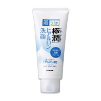 <お取り寄せ商品>【ロート製薬】肌研(ハダラボ)極潤ヒアルロン洗顔フォーム100g