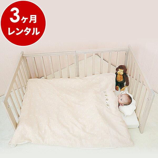 『新品レンタル』フロアベッド ホワイトアッシュ【3ヶ月レンタル】