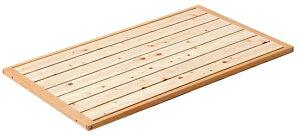 折りたたみミニベッド専用床板変更オプション(床板すのこタイプ)