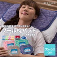 mofua cool 接触冷感素材・アウトラストクール枕パッド同色2枚組(抗菌防臭・防ダニわた使用)35cm×50cm