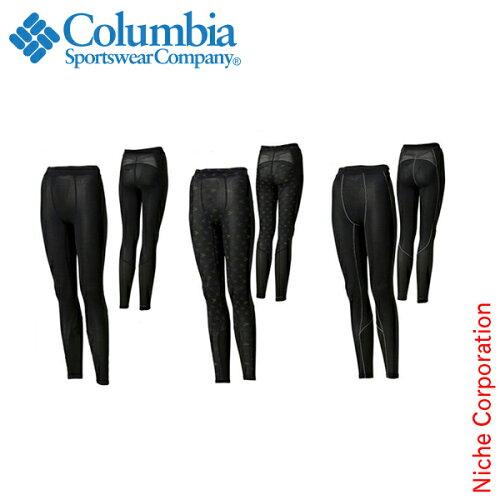 コロンビア シルバーケイブスコンプレッションタイツ Women's [PL8050] Silver Caves Compression ...