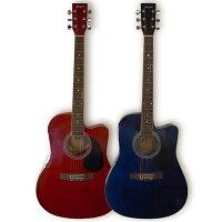 カラーフォークギターセット