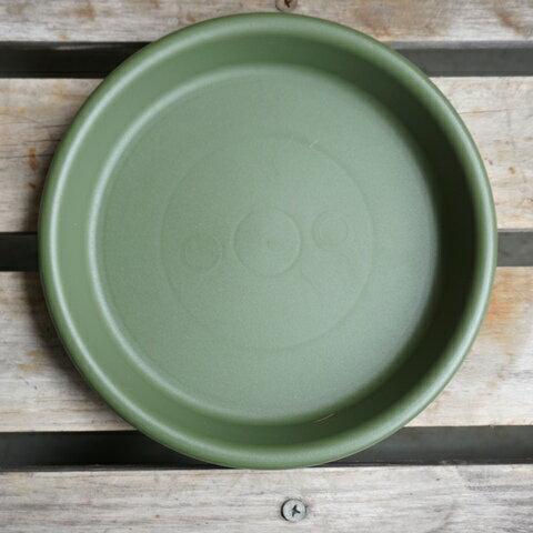 鉢皿グロウプレート12型 グリーン 緑 グロウコンテナ用(4号鉢用)受け皿 鉢皿 丸鉢用 プレート皿 受皿 鉢 プランター ガーデニング雑貨