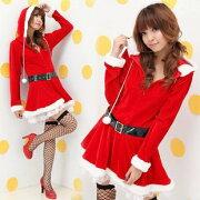 クリスマス サンタコスプレ コスプレ サンタクロース レディース クリスマスコスプレ セクシー ワンピース
