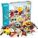 BRIO ブリオ ビルダー クリエイティブセット 知育玩具 3歳 4歳 5歳 木のおもちゃ 木製 誕生日プレゼント 誕生日 男の子 男 女の子 女 こども おもちゃ 子供 オモチャ ギフト 木製玩具 子ども 玩具 | プレゼント 大工 組み立てる キッズ ネジ 組み立て 車 知育おもちゃ 木
