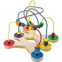 メリッサ&ダグ ビーズルーピング 知育玩具 1歳 2歳 3歳 木のおもちゃ ビーズコースター 赤ちゃん 子供 木製 誕生日プレゼント 誕生日 男の子 男 女の子 女 出産祝い おもちゃ 子ども こども オモチャ ギフト 木製玩具 あかちゃん 玩具 | 知育 お祝い 一歳 二歳 キッズ 木