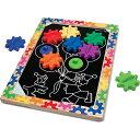 メリッサ&ダグ スイッチ&スピン マグネットギアボード 知育玩具 木のおもちゃ 3歳 4歳 5歳 子供 誕生日プレゼント 誕生日 男の子 男 女の子 女 赤ちゃん 出産祝い 知育玩具3才 おもちゃ 子ども こども オモチャ ギフト あかちゃん 子供用 パズル 玩具