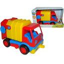 ポリシエ Basics 清掃車 車のおもちゃ 砂場 おもちゃ |誕生日 男 知育玩具 女 3歳 4歳
