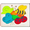 ジョージラックパズル 3重パズル・かたつむりと友達 知育玩具 2歳 3歳 パズル 幼児 知育 木のおもちゃ 木製 子供 赤ちゃん 出産祝い 誕生日プレゼント 誕生日 男の子 男 女の子 女 玩具 ベビー おもちゃ 男児 キッズ