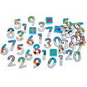 スクラッチ マグネティックナンバー シティ 60ピース 知育玩具 マグネット 3歳 4歳 5歳 パズル 幼児 知育 子供 誕生日プレゼント 誕生日 男の子 男 女の子 女 玩具 数 数字 計算|磁石 知育オモチャ 知育おもちゃ キッズおもちゃ 出産祝い 出産祝 プレゼント 内祝い 内祝