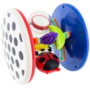 Sassy ファッシネーション・ロール・アラウンド 知育玩具 0歳 1歳 2歳 誕生日 誕生日プレゼント 知育 赤ちゃん ベビー 男の子 男 女の子 女 出産祝い おもちゃ オモチャ 幼児 | 一歳 赤ちゃん玩具 プレゼント 音の出るおもちゃ 玩具 おしゃれ 2 才 児 子供 1歳半 二歳 乳児