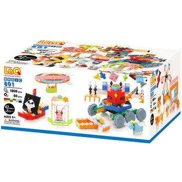 送料無料 ラキュー LaQ ベーシック801 ブロック おもちゃ   誕生日 男 知育玩具 6歳 女 5歳 女の子 子供 誕生日プレゼント 男の子 小学生 こども キッズ 組み立てる らきゅー 子ども オモチャ プラモデル クリスマス プレゼント クリスマスプレゼント 子どもおもちゃ
