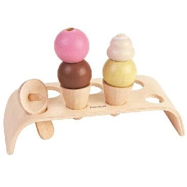 プラントイ アイスクリームセット ままごと キッチン 誕生日 誕生日プレゼント 木のおもちゃ 木製 おままごと ままごとセット 子供 女の子 女 出産祝い 3歳 4歳 5歳 | クリスマス クリスマスプレゼント おもちゃ 幼児 食材 知育玩具 海外 アイスクリーム アイス アイス屋さん