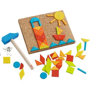 ハバ HABA ポックポック・パステル 知育玩具 3歳 4歳 5歳 誕生日 誕生日プレゼント ドイツ 木製 木のおもちゃ 男の子 男 女の子 女 立体パズル タングラム 幼児 子供 キッズ パズル おもちゃ オモチャ 入園 入学 知育 木製玩具 子ども こども