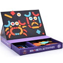 Mideer マグネット アクティビティ 知育玩具 マグネット 3歳 4歳 5歳 子供 誕生日プレゼント 誕生日 男の子 男 女の子 女 赤ちゃん 出産祝い おもちゃ ギフト 子供用 幼児 パズル 玩具