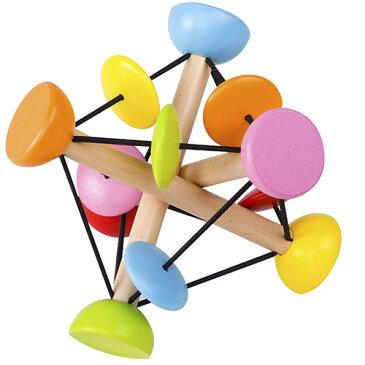 クラシックワールド マジック ボール ラトル がらがら おもちゃ 赤ちゃん 0歳 1歳 木のおもちゃ 子供 誕生日 プレゼント 男の子 男 女の子 女 出産祝い ベビー ベビートイ 幼児 木製 音の出るおもちゃ かわいい 玩具 乳児 木製玩具