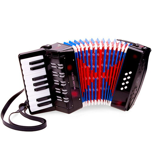 New Classic Toys『accordion black with music book(10057)』