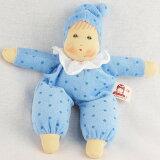 抱き人形 おもちゃ ナンヒェン リトルベビー・ブルー 子供 ドイツ 誕生日プレゼント 誕生日 女の子 女 出産祝い 2歳 3歳 4歳