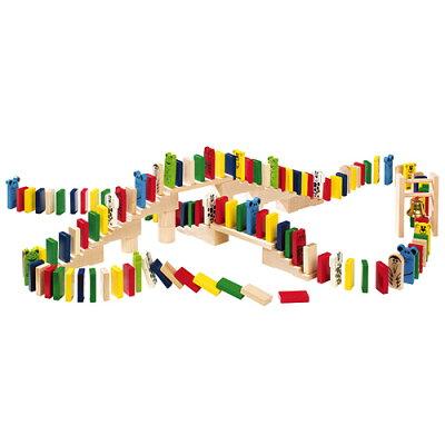 ドミノ おもちゃ おすすめ カラフル かわいい 木製