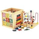 パズル 木製 動物 クロック キャロット 幼児 知育玩具 おもちゃ ジェコ ( DJECO 型はめパズル 4ピース 持ちやすい 形あわせ はめこみ 簡単 1歳 )【4500円以上送料無料】
