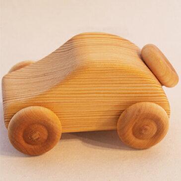 車のおもちゃ デブレスカ社 北欧のクーペ 木のおもちゃ 赤ちゃん 木製 出産祝い ベビー 誕生日プレゼント 誕生日 男の子 男 女の子 女 2歳 3歳 4歳