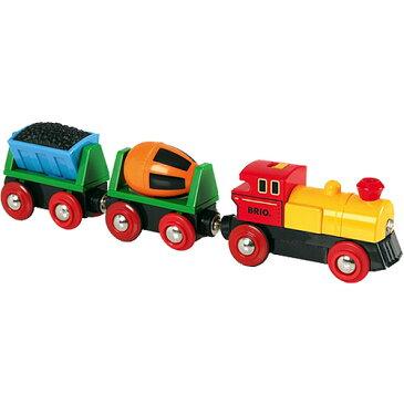 BRIO ブリオ レール バッテリーパワーアクショントレイン |列車 ギフト 北欧 おもちゃ 三歳 四歳 五歳 乗り物 安心 幼児 玩具 オモチャ 木のおもちゃ 木製レール 男の子 誕生日プレゼント 3歳 4歳 5歳 子供 レールセット
