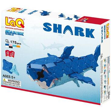 LaQ ラキュー マリンワールド シャーク ブロック おもちゃ 子供 誕生日プレゼント 誕生日 男の子 男 女の子 女   知育玩具 6歳 5歳 小学生 こども キッズ 組み立てる らきゅー 子ども サメ オモチャ プラモデル クリスマス プレゼント クリスマスプレゼント マンタ